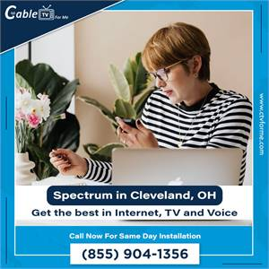 Need a new Internet provider? Try Spectrum now! in Cleveland, OH
