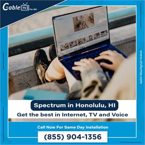 Get the best Internet, TV and phone for your home in Honolulu, HI
