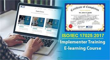 ISO/IEC 17025 Lead Implementer – E-learning Course