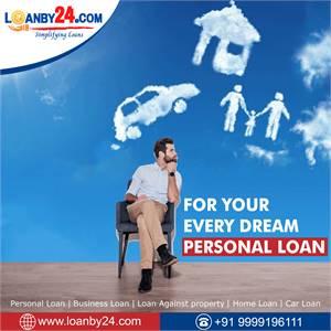 "Get ""Personal Loan"" through ""Loanby24""."