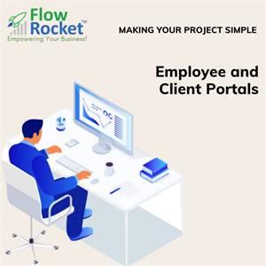 Employee & Client Portal Software   HR Solutions   FlowRocket Service