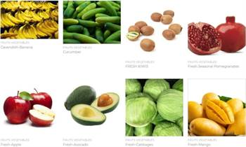 Buy Fresh Onions, Garlic, Grapes, Fresh Apple, Ginger, Potatoes, Carrots