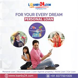 Contact Loanby24  for Personal Loan.