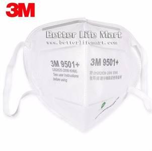 3M 9501+ KN95 Particulate Respirator Face Mask, 50pcs/bag, Clearance Sale