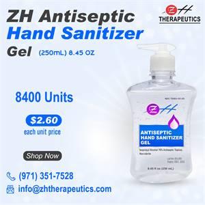 250 ml ZH Antiseptic Hand Sanitizer Gel