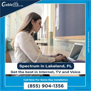 Get cable internet and save on your bill for Lakeland, FL