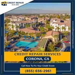 Start repairing your poor credit score now Corona, CA