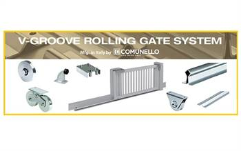 Extensive range of Rolling Gate System for the installation