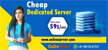 Buy Cheapest Dedicated Server Hosting Plan from Onlive Server