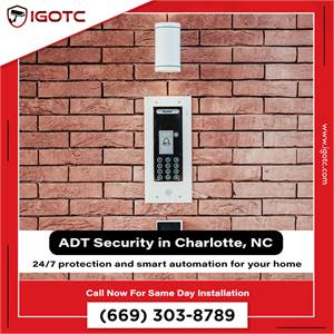 Protect Your Charlotte, NC Home with ADT Security