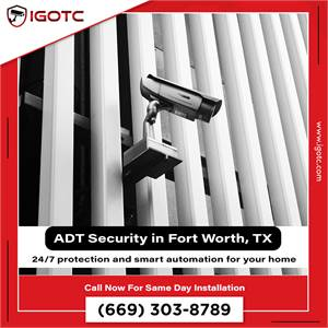 Get Fort Worth, TX ADT Smart Home Security