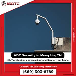 Local ADT Home Security Monitoring in Memphis, TN