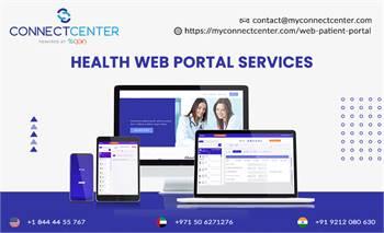 Health Web Portal Services   In USA  l CONNECTCENTER