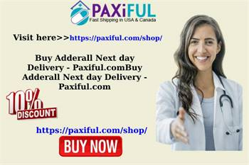 Buy Adderall Next day Delivery - Paxiful.com