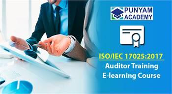ISO 17025 Internal auditor training.