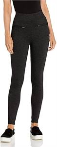 Daily Ritual Women's Ponte Knit Skinny-Fit Zip Pants