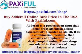 Order Adderall Online Safe in Paxiful.com