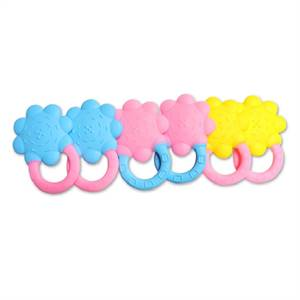 Hot Sale Factory for High Quality Silicone Flower Shape Teether for Baby