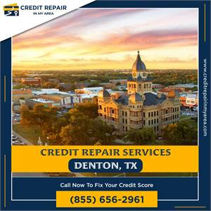 Free Credit Repair Services for All Americans in Denton, TX