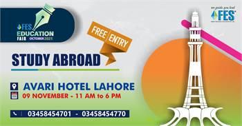 FES Education Fair October 2021 At Avari Hotel Lahore Reschedule.