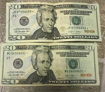 Buy Counterfeit 20 US dollar bills
