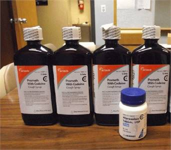 Lean - Actavis Promethazine With Codeine Purple Cough Syrup - Sealed Pints For Sale