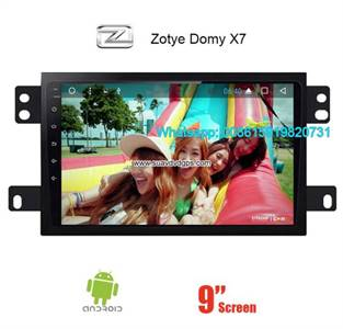 Zotye Domy X7 Audio Radio Car Android wifi GPS Camera Navigation