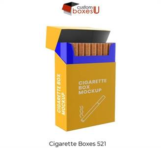Cardboard cigarette boxes wholesale High Resolution Stock Photography in London, UK