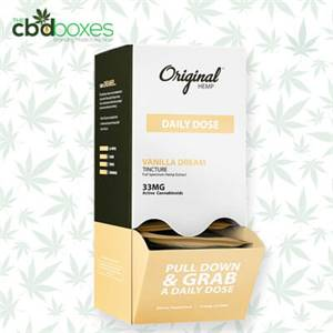 Get Custom CBD Hemp Extract Packaging Boxes with logo