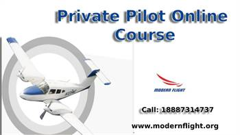 Private Pilot Online Course