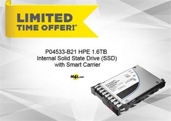 Exclusive Discount offer SAVE $60 OFF on P04533-B21 HPE 1.6TB Internal Solid State Drive