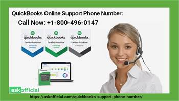 QuickBooks Online Support Phone Number: +1-800-496-0147