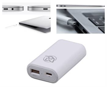 Mikegyver 87w Fast Super Quick Charge MAX Macbook Pro Touchbar USB-C Car Adapter Charger