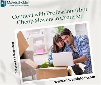Connect with Professional but Cheap Movers in Cranston