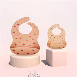 High Quality Soft Easy Clean Waterproof Baby Bibs Silicone Manufacturer Wholesaler