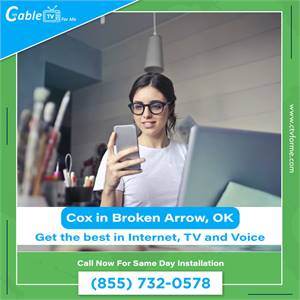 Cox Digital Cable TV and Home Phone in Broken Arrow, OK