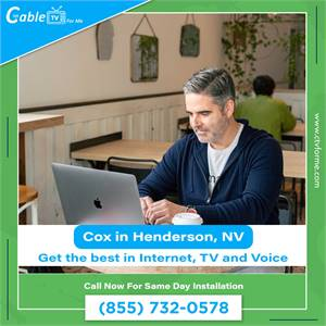 Cox High Speed Internet get the Best Internet Service at Home in Henderson, NV