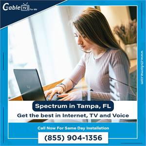 Get a better cable package for less with Spectrum in Tampa, FL