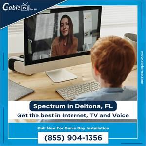Fast Spectrum TV and Internet Installation in Deltona, FL