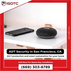 Be Smart and Buy ADT Smart Home Security in San Francisco, CA