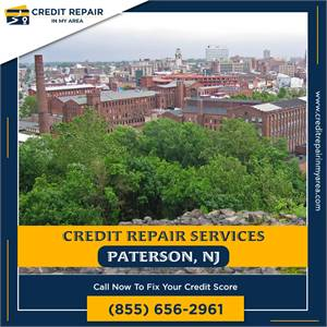 Fix and Improve your credit score in Paterson