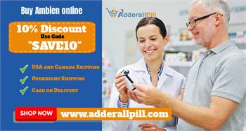 Order Ambien 5mg online overnight shipping with Fedex in USA and Canada - Adderallpill.com