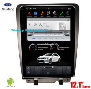 Ford Mustang 2009-2015 Tesla Style IPS Android Radio Navigation