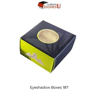 Fully Utilized Custom Eyeshadow Packaging in Texas, USA
