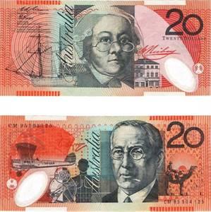 Buy Counterfeit 20 Australian Dollar Banknotes