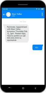 Google appointment reminder
