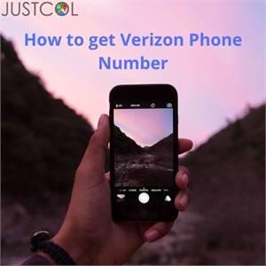 How to get Verizon Phone Number