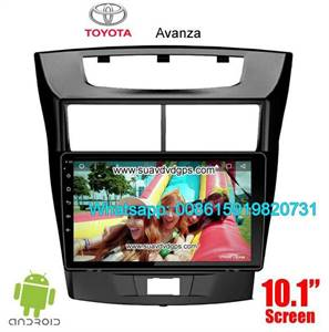 Toyota Avanza Audio Radio Car Android wifi GPS Camera Navigation