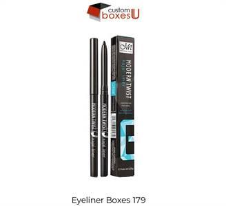 Printed Personalized Branded Eyeliner packaging in USA
