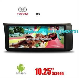 Toyota 86 Audio Radio Car Android wifi GPS Camera Navigation